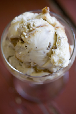Vanilla Ice Cream With Sesame Candies And Halvah Recipes — Dishmaps